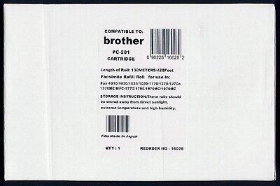 - New PC-201 Fax Cartridge for Brother 1010 1020 1020E 1020+ 1025 1030 1030E 1030+