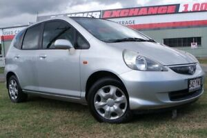 2005 Honda Jazz GD MY05 GLi Silver 1 Speed Constant Variable Hatchback Eagle Farm Brisbane North East Preview