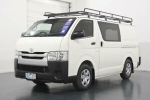 2015 Toyota HiAce KDH201R MY15 LWB White 4 Speed Automatic Van Oakleigh Monash Area Preview