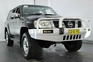 2011 Nissan Patrol GU 7 MY10 ST Black 5 Speed Manual Wagon