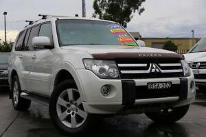 2010 Mitsubishi Pajero NT MY10 VR-X White 5 Speed Sports Automatic Wagon