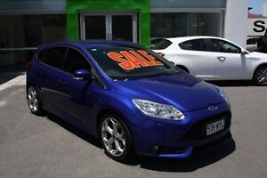 2012 Ford Focus LW MKII ST Blue 6 Speed Manual Hatchback Mount Gravatt Brisbane South East Preview