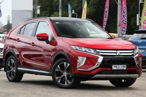2018 Mitsubishi Eclipse Cross YA MY19 Exceed AWD Red 8 Speed Constant Variable Wagon