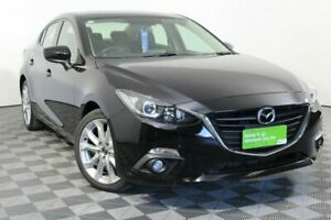 2015 Mazda 3 BM5238 SP25 SKYACTIV-Drive Black 6 Speed Sports Automatic Sedan Wayville Unley Area Preview