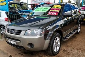 2008 Ford Territory SY TX Black 4 Speed Sports Automatic Wagon Minchinbury Blacktown Area Preview