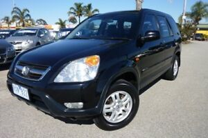 2002 Honda CR-V RD MY2002 Sport 4WD Black 4 Speed Automatic Wagon Heatherton Kingston Area Preview