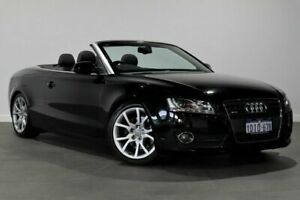 2010 Audi A5 8T MY10 S Tronic Quattro Black 7 Speed Sports Automatic Dual Clutch Cabriolet Bayswater Bayswater Area Preview