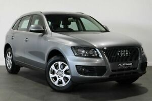 2009 Audi Q5 8R MY10 TFSI S Tronic Quattro Silver 7 Speed Sports Automatic Dual Clutch Wagon Bayswater Bayswater Area Preview