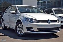 2015 Volkswagen Golf VII MY16 Silver 7 Speed Sports Automatic Dual Clutch Hatchback Hobart CBD Hobart City Preview