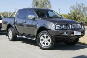 2012 Mitsubishi Triton MN MY12 GLX-R Double Cab Charcoal 5 Speed Sports Automatic Utility Clarkson Wanneroo Area Preview