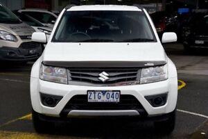 2013 Suzuki Grand Vitara JB MY13 Urban 2WD Pearl White 4 Speed Automatic Wagon