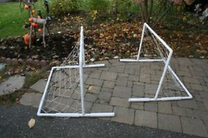 Hockey Set for Kids and Adults. Two gates for Hockey and Puck.