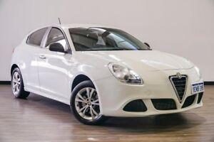 2014 Alfa Romeo Giulietta Series 0 MY13 Progression TCT White 6 Speed Sports Automatic Dual Clutch