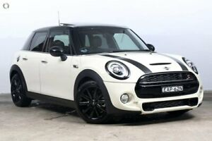 2018 Mini Hatch F55 LCI Cooper S DCT Pepper White 7 Speed Sports Automatic Dual Clutch Hatchback Darlinghurst Inner Sydney Preview