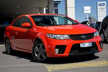 2011 Kia Cerato TD MY11 Koup SI Racing Red 6 Speed Sports Automatic Coupe