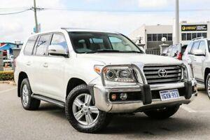 2013 Toyota Landcruiser White Sports Automatic Wagon