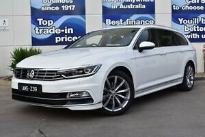 2016 Volkswagen Passat 3C (B8) MY17 140TDI DSG Highline White 6 Speed Sports Automatic Dual Clutch Epping Whittlesea Area Preview