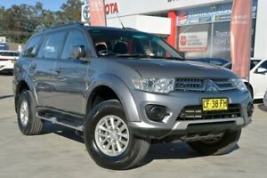 2015 Mitsubishi Challenger PC MY14 (4x4) Silver 5 Speed Automatic Wagon Wyoming Gosford Area Preview