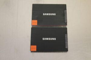LOT OF 2 Samsung 830 Series 2.5