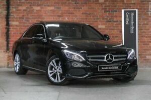 2015 Mercedes-Benz C-Class W205 C200 Black Sports Automatic Mulgrave Monash Area Preview