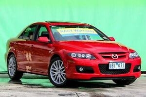 2006 Mazda 6 GG1032 MPS Red 6 Speed Manual Sedan Ringwood East Maroondah Area Preview