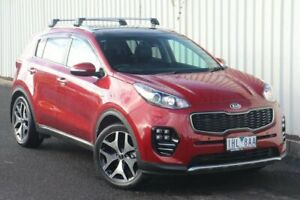2016 Kia Sportage QL MY16 Platinum AWD Red 6 Speed Sports Automatic Wagon Watsonia Banyule Area Preview