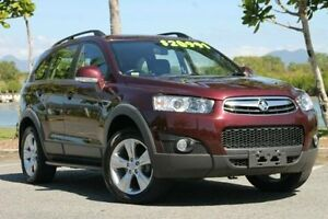 2013 Holden Captiva CG Series II MY12 7 CX Maroon 6 Speed Sports Automatic Wagon Bungalow Cairns City Preview