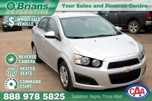 2015 Chevrolet Sonic LT - Wholesale Unit w/Command Start