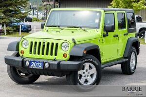 2013 Jeep Wrangler Unlimited UNLIMTED SPORT RARE GECKO FREEN!!!