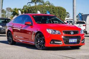 2014 Holden Commodore VF MY14 SS V Redline Red 6 Speed Manual Sedan Maddington Gosnells Area Preview