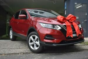 2019 Nissan Qashqai J11 Series 2 ST+ X-tronic Red 1 Speed Constant Variable Wagon Chatswood Willoughby Area Preview