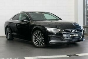 2018 Audi A5 F5 MY18 Sport S Tronic Black 7 Speed Sports Automatic Dual Clutch Coupe Zetland Inner Sydney Preview