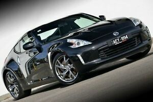 2015 Nissan 370Z Z34 MY15 Black 6 Speed Manual Coupe Ferntree Gully Knox Area Preview
