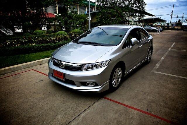 Set Black Carbon Handle Bowl 4 Door Cover For Honda Civic FB Car Sedan 2013