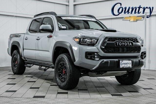 2017 Toyota Tacoma TRD Pro 20781 Miles Quicksand 4D Double Cab V6 6-Speed Automa