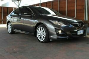 2010 Mazda 6 GH Series 2 Classic Grey Sports Automatic Glebe Hobart City Preview