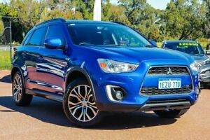 2016 Mitsubishi ASX XB MY15.5 LS 2WD Blue 6 Speed Constant Variable Wagon Wangara Wanneroo Area Preview