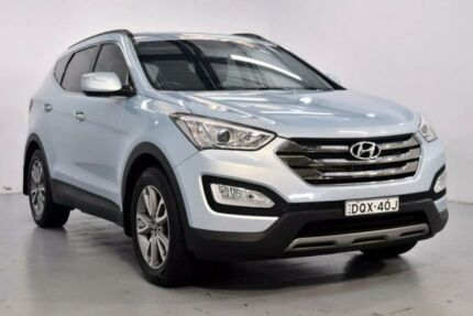 2012 Hyundai Santa Fe CM Elite Blue Sports Automatic Wagon Lansvale Liverpool Area Preview