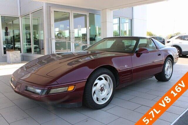 1993 Red Chevrolet Corvette   | C4 Corvette Photo 3