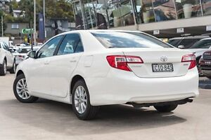 2012 Toyota Camry ASV50R Altise Diamond White 6 Speed Sports Automatic Sedan Brookvale Manly Area Preview