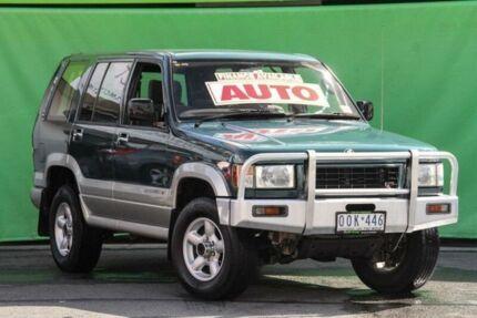 1997 Holden Jackaroo LWB (4x4) Green 4 Speed Automatic 4x4 Wagon Ringwood East Maroondah Area Preview