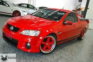 2012 Holden Ute VE II MY12 Omega Red Hot 6 Speed Sports Automatic Utility Bray Park Pine Rivers Area Preview