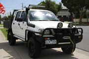 2003 Toyota Hilux VZN167R MY02 White 5 Speed Manual Utility Altona North Hobsons Bay Area Preview