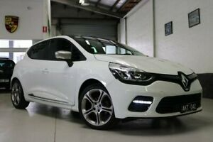 2016 Renault Clio IV B98 GT EDC Premium White 6 Speed Sports Automatic Dual Clutch Hatchback West Melbourne Melbourne City Preview