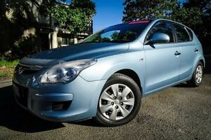 2009 Hyundai i30 FD MY09 SX Blue 4 Speed Automatic Hatchback Earlville Cairns City Preview