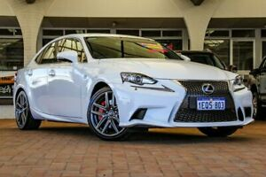 2014 Lexus IS350 GSE31R F Sport White 8 Speed Sports Automatic Sedan Melville Melville Area Preview