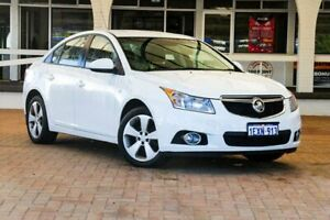 2013 Holden Cruze JH Series II MY13 Equipe White 6 Speed Sports Automatic Sedan Melville Melville Area Preview