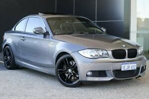 2010 BMW 123d E82 MY10 Steptronic Space Grey 6 Speed Sports Automatic Coupe Wangara Wanneroo Area Preview