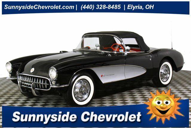 1957 Black Chevrolet Corvette     C1 Corvette Photo 1