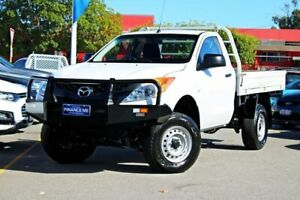 2015 Mazda BT-50 UP0YF1 XT White 6 Speed Manual Cab Chassis Midland Swan Area Preview